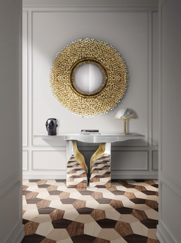Gold Accents, An Incredible Trend For Luxurious Mirrors gold accents Gold Accents, An Incredible Trend For Luxurious Mirrors 1 1