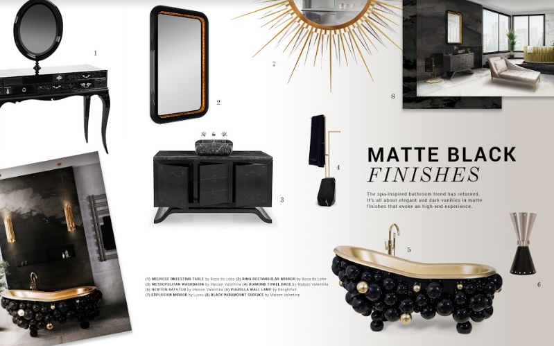 Matte Black Finishes To Inspire Your Home Décor