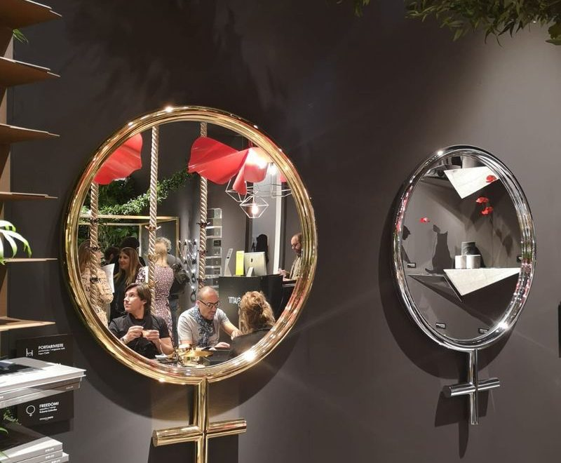Ciatti And Their Wonderful Mirror Design At Salone Del Mobile 2019