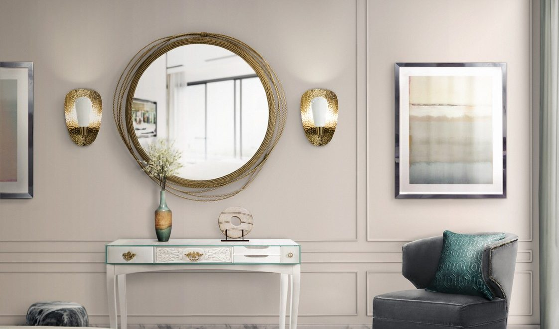 Gold Accents, An Incredible Trend For Luxurious Mirrors