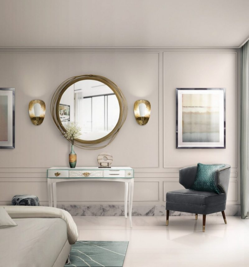 Gold Accents, An Incredible Trend For Luxurious Mirrors gold accents Gold Accents, An Incredible Trend For Luxurious Mirrors casa padrino luxus wohnzimmer hotel spiegel wands 4 e1554457162240