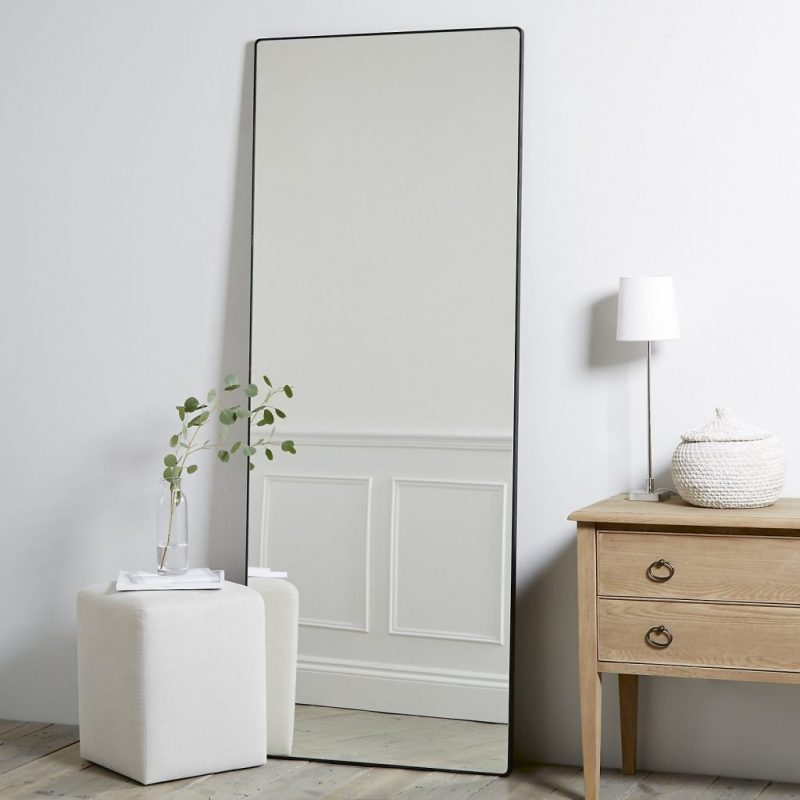 Full Length Mirrors And Their Best Displays full length mirrors Full Length Mirrors And Their Best Displays chiltern thin metal mirror e1554471257567