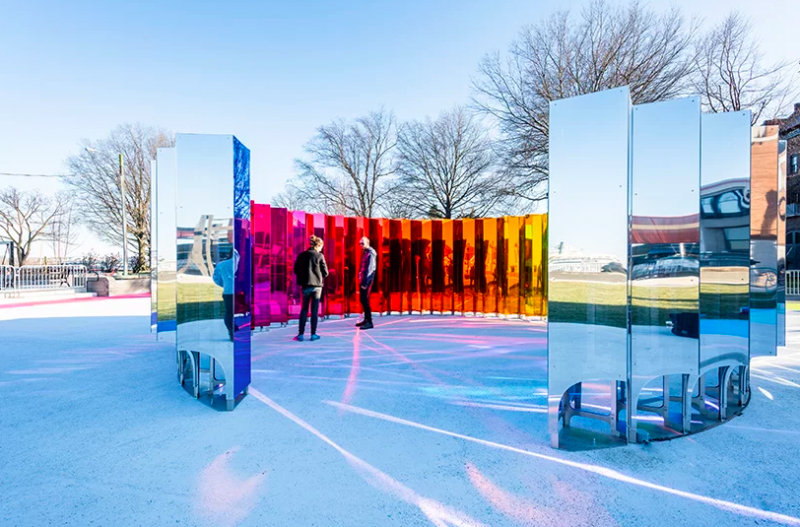 SoftLab Creates An Amazing Art And Mirrored Installation In Virginia softlab SoftLab Creates An Amazing Art And Mirrored Installation In Virginia Captura de ecra   2019 05 03 a  s 11