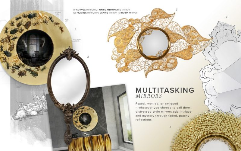 Multitasking Mirrors Trend, The Most Crucial Décor Style multitasking mirrors Multitasking Mirrors Trend, The Most Crucial Décor Style Find 5 Staggering Wall Mirror Designs in this Exhilarating Moodboard 8 e1556900631950
