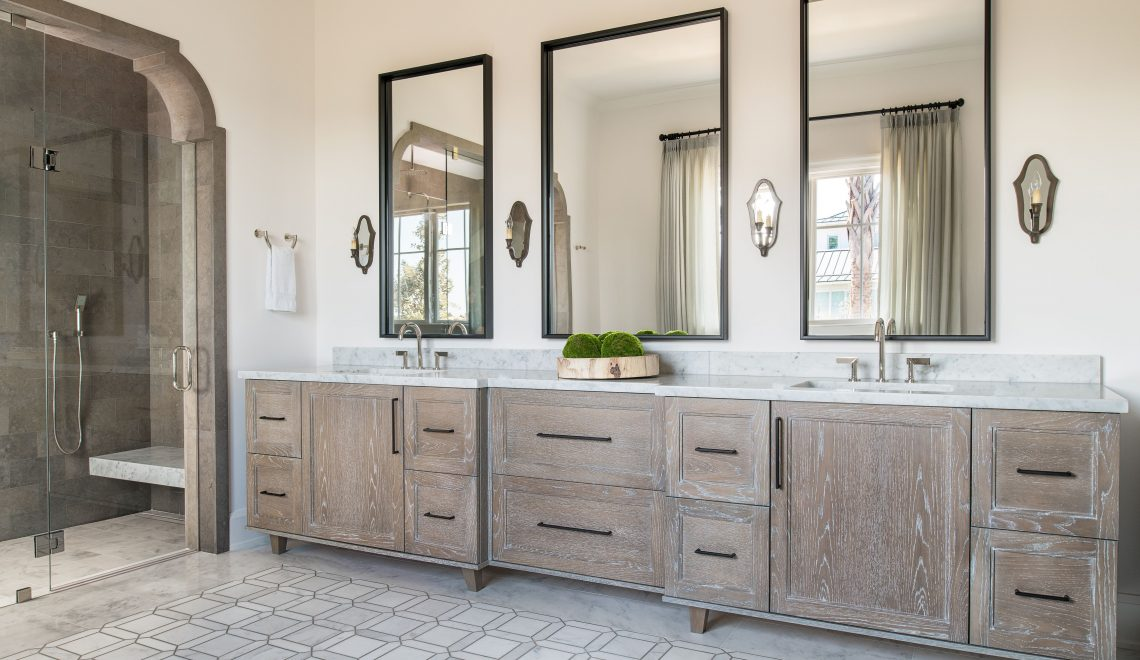 Admire These Eccentric Mirrors Choices From Pineapple House pineapple house Admire These Eccentric Mirrors Choices From Pineapple House Lot 6 Master Bath 2 1140x660