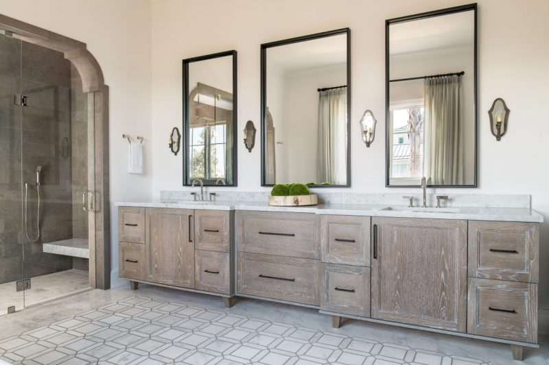 Admire These Eccentric Mirrors Choices From Pineapple House pineapple house Admire These Eccentric Mirrors Choices From Pineapple House Lot 6 Master Bath 2 e1558109451378