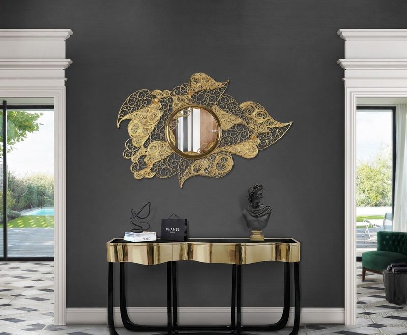 Inspire Your Home Décor With This Selection Of Stylish Mirrors stylish mirrors Inspire Your Home Décor With This Selection Of Stylish Mirrors Striking Mirrors Are One Of The Top Design Trends For 2019 2020 2 800x660