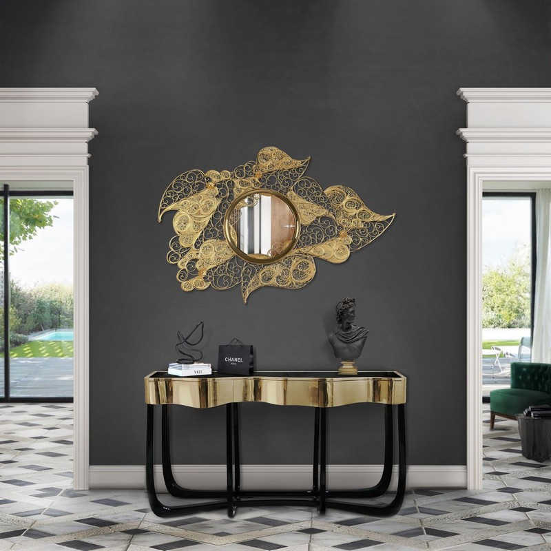 Inspire Your Home Décor With This Selection Of Stylish Mirrors  stylish mirrors Inspire Your Home Décor With This Selection Of Stylish Mirrors Striking Mirrors Are One Of The Top Design Trends For 2019 2020 2