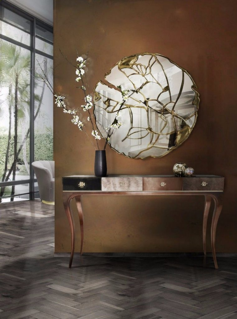 Inspire Your Home Décor With This Selection Of Stylish Mirrors  stylish mirrors Inspire Your Home Décor With This Selection Of Stylish Mirrors Striking Mirrors Are One Of The Top Design Trends For 2019 2020 4