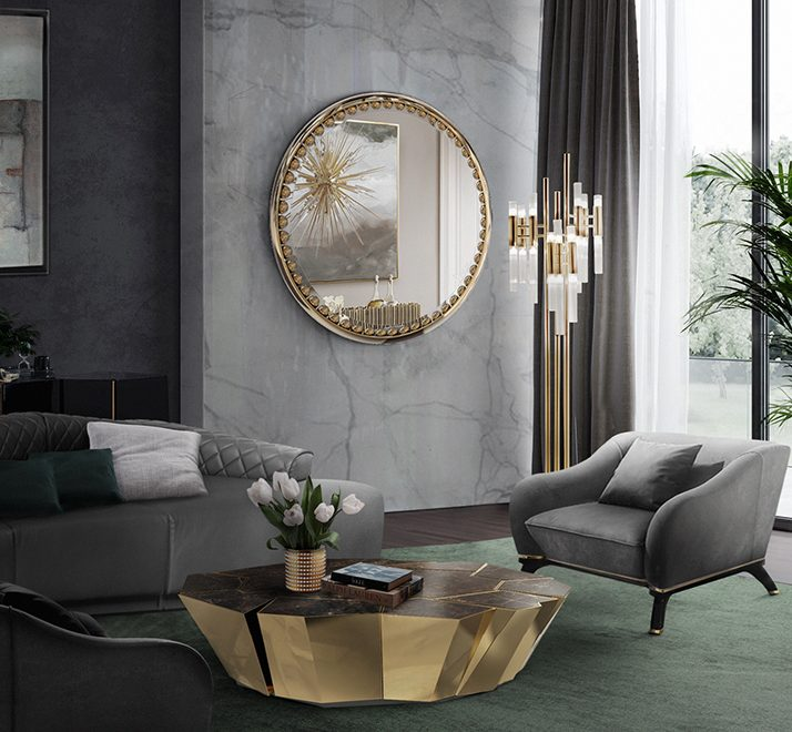 Sophisticated Wall Mirrors And Their Spectacular Features