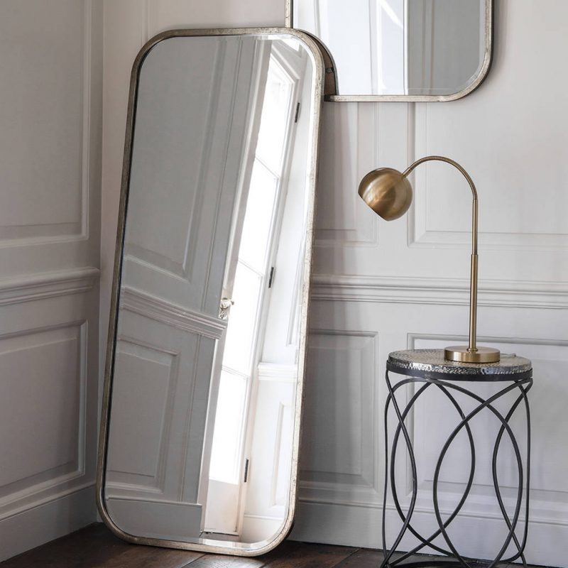 Inspire Your Home Décor With This Selection Of Stylish Mirrors stylish mirrors Inspire Your Home Décor With This Selection Of Stylish Mirrors original antiqued silver slim full length mirror e1557484178500