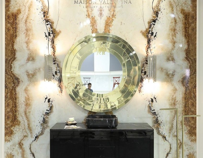 Meet Piet Boon's Stylish Mirror And The Best Bathroom Selection