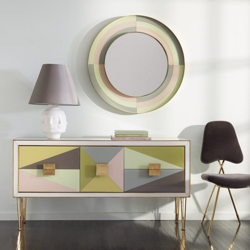 Fall In Love With The Collection Of Mirrors From Jonathan Adler jonathan adler Fall In Love With The Collection Of Mirrors From Jonathan Adler harlequin credenza  e1559922764532