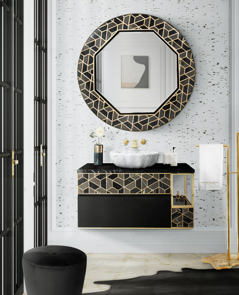 Color Trends 2019: Black and Gold For Your Bathroom color trends 2019 Color Trends 2019: Black and Gold For Your Bathroom Color Trends 2019 Pastel Vibes For Your Bathroom 4