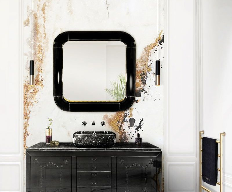 Fall In Love With A Stunning Mirror Collection For Your Bathroom