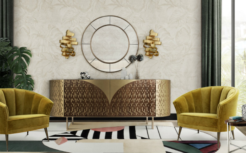 7 Luxury Living Rooms With Amazing Wall Mirrors