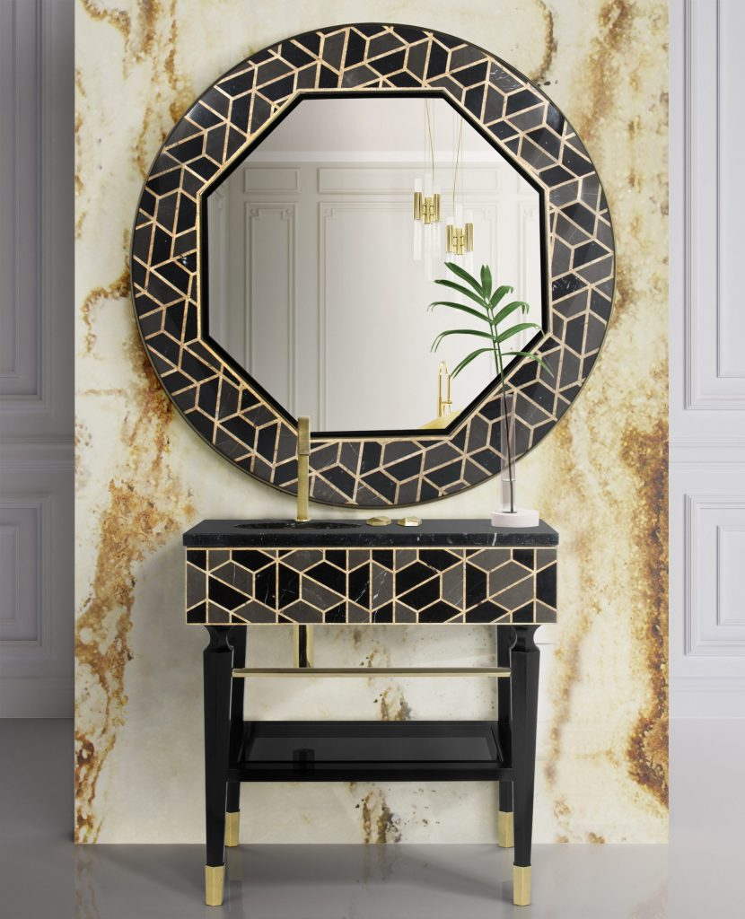 Bathroom Mirrors To Fall In Love In 2020 bathroom mirrors Bathroom Mirrors To Fall In Love In 2020 revamp luxury bathroom amazing mirrors 3 scaled