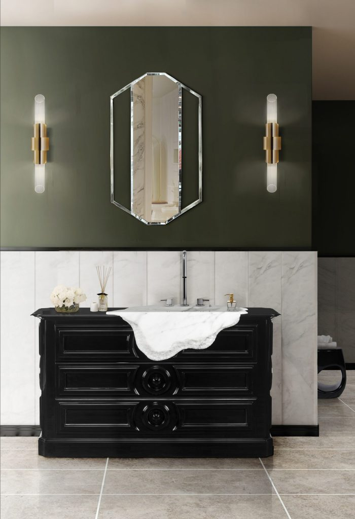 Bathroom Mirrors To Fall In Love In 2020 bathroom mirrors Bathroom Mirrors To Fall In Love In 2020 revamp luxury bathroom amazing mirrors 4 scaled