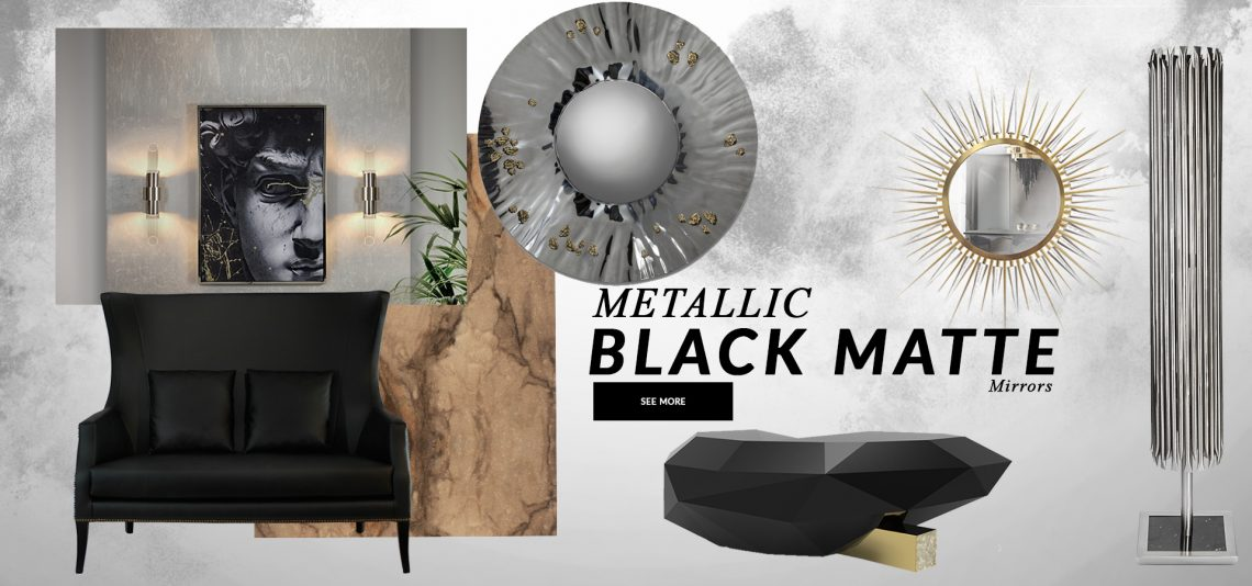 Metallics Is The Design Trend Your Wall Mirrors Need metallics Metallics Is The Design Trend Your Wall Mirror Needs metallics design trend wall mirrors need 1