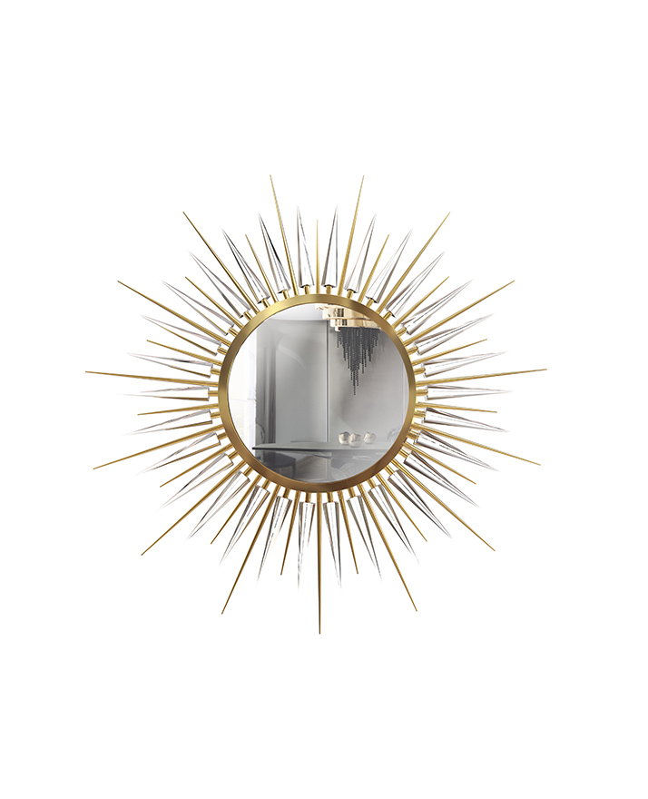 metallics Metallics Is The Design Trend Your Wall Mirror Needs metallics design trend wall mirrors need 5