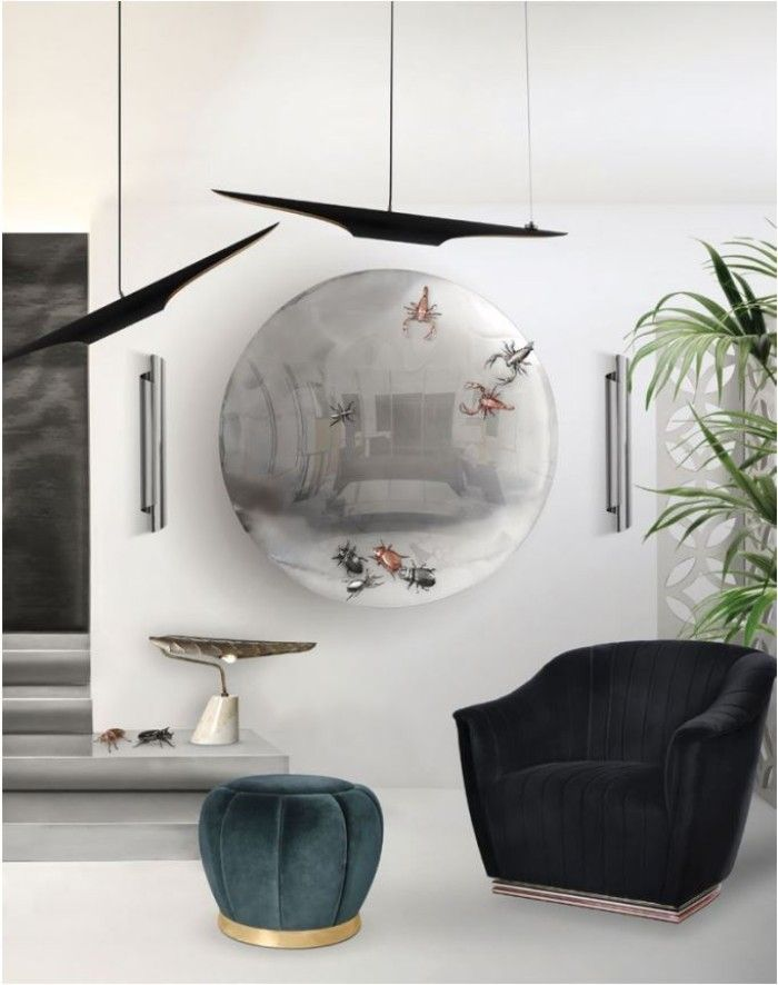 Metallics Is The Design Trend Your Wall Mirrors Need metallics Metallics Is The Design Trend Your Wall Mirror Needs metallics design trend wall mirrors need 6