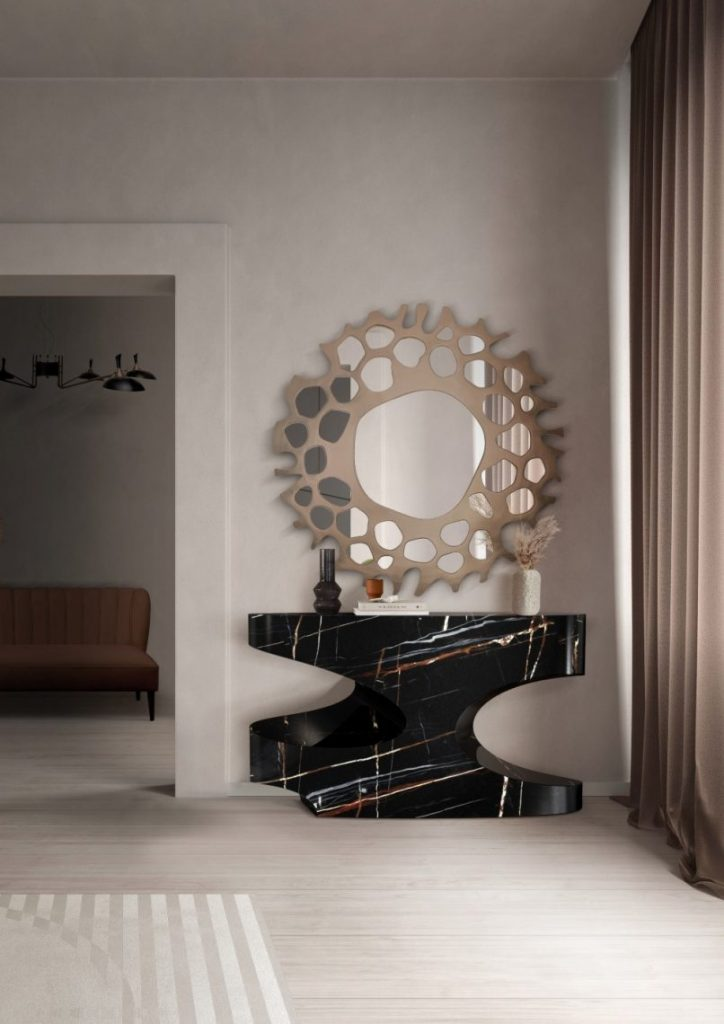wall mirrors Wall Mirrors That Will Make Your Entryway Feel Bigger wall mirrors make entryway feel bigger 1 1 scaled