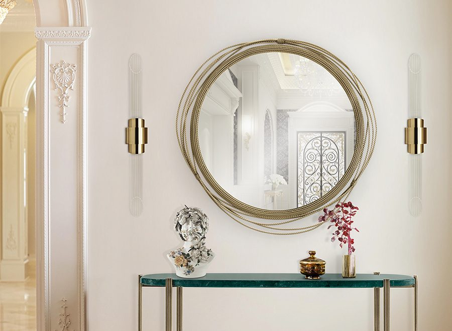Wall Mirrors That Will Make Your Entryway Feel Bigger
