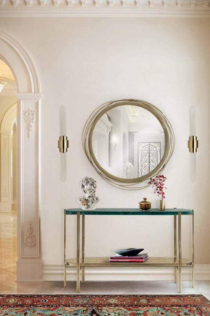 Wall Mirrors That Will Make Your Entryway Feel Bigger wall mirrors Wall Mirrors That Will Make Your Entryway Feel Bigger wall mirrors make entryway feel bigger 1 scaled