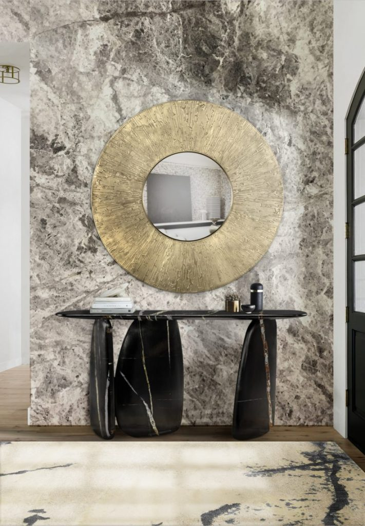 wall mirrors Wall Mirrors That Will Make Your Entryway Feel Bigger wall mirrors make entryway feel bigger 2 1 scaled