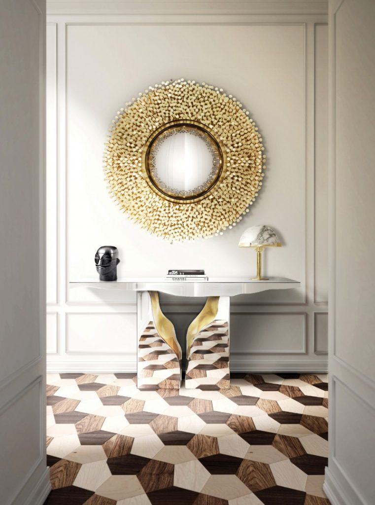 Wall Mirrors That Will Make Your Entryway Feel Bigger wall mirrors Wall Mirrors That Will Make Your Entryway Feel Bigger wall mirrors make entryway feel bigger 2
