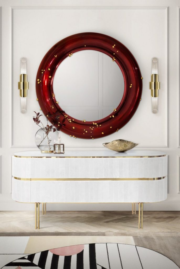 wall mirrors Wall Mirrors That Will Make Your Entryway Feel Bigger wall mirrors make entryway feel bigger 3 1 scaled