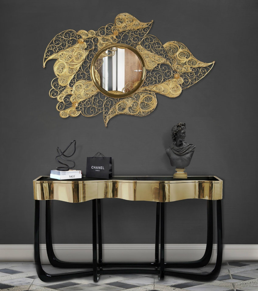 Wall Mirrors That Will Make Your Entryway Feel Bigger wall mirrors Wall Mirrors That Will Make Your Entryway Feel Bigger wall mirrors make entryway feel bigger 3