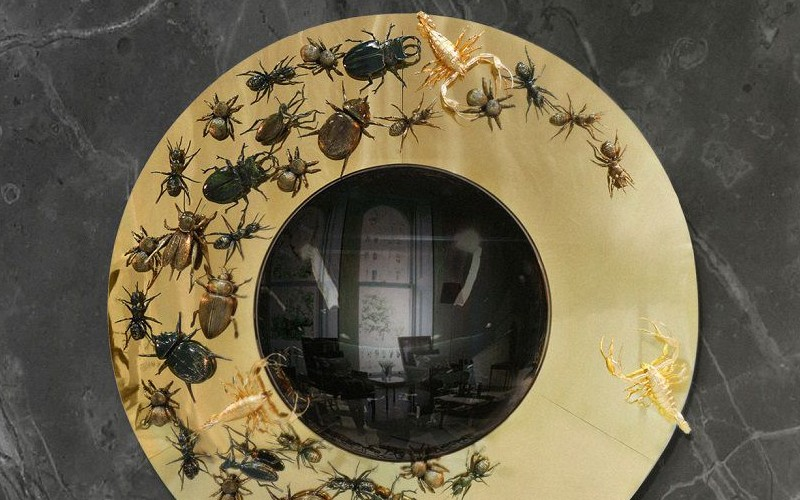 Round Mirrors That Looks Like Works Of Art