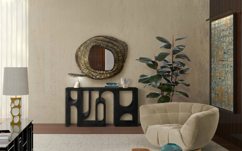 squiggly mirrors Squiggly Mirrors To Make A Design Statement squiggly mirrors make design statement