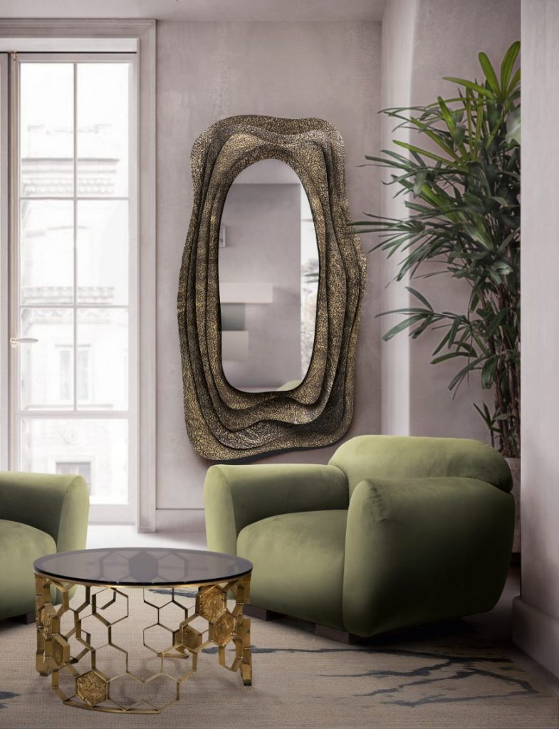 These Wall Mirrors Will Help You Brighten Up A Dark Room wall mirrors These Wall Mirrors Will Help You Brighten Up A Dark Room wall mirrors help brighten dark room 1 scaled