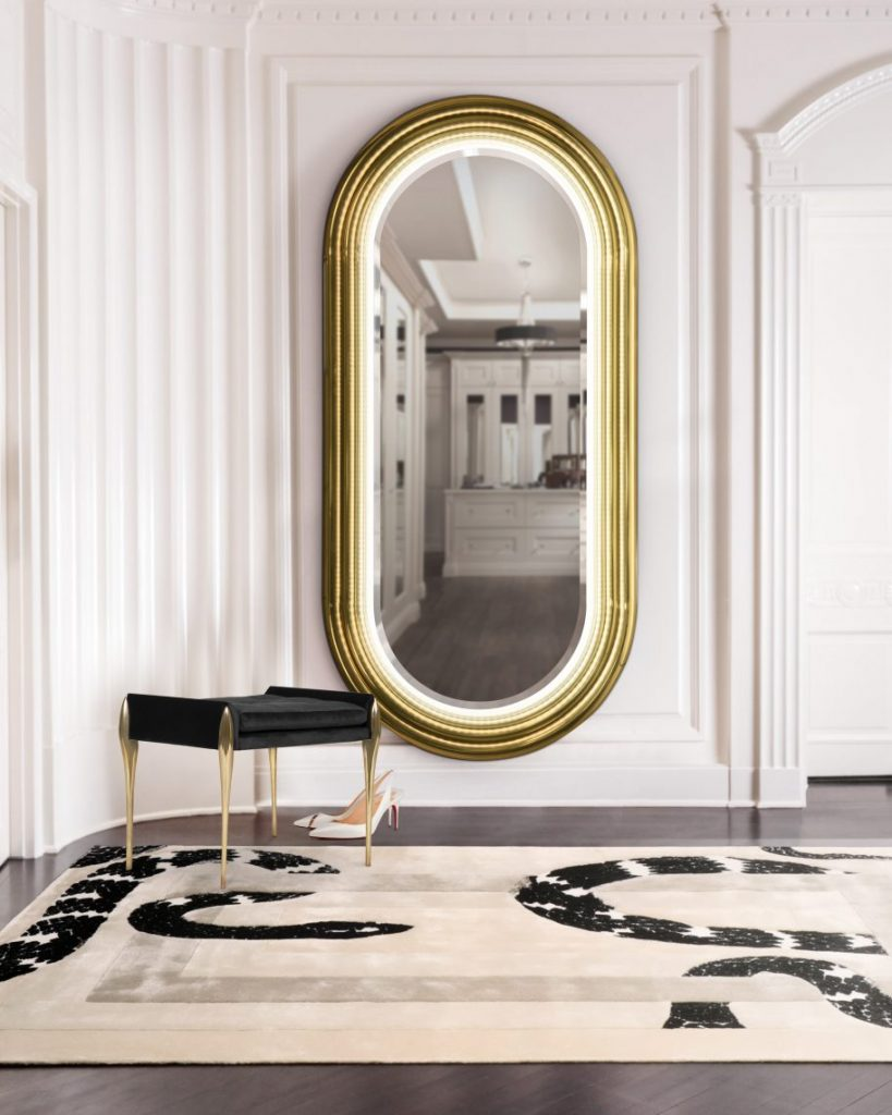 luxury mirrors Luxury Mirrors With Unique Golden Details  luxury mirrors unique golden details 5 scaled