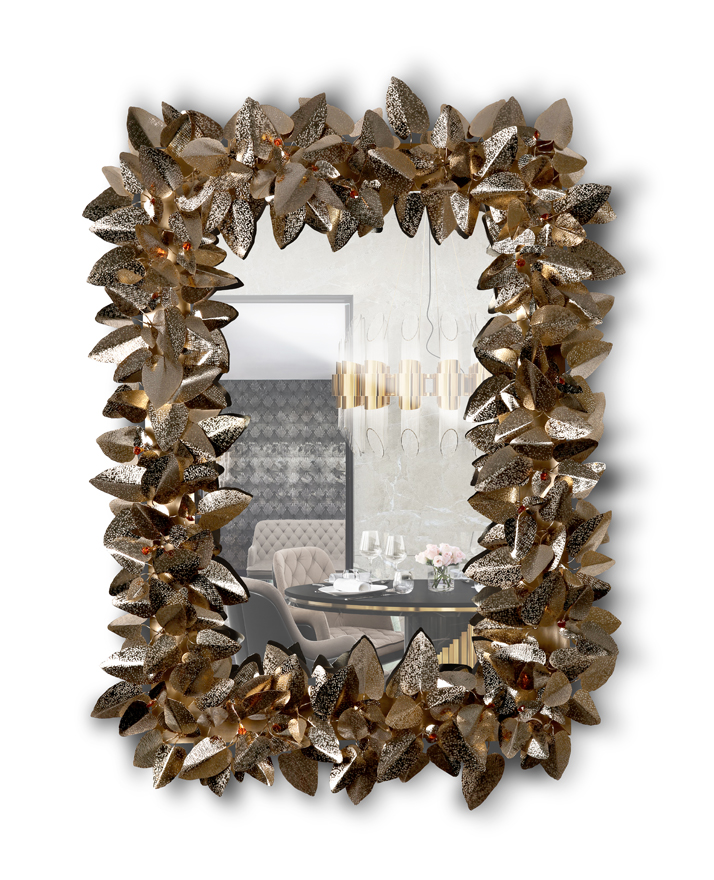 luxury wall mirrors Be Inspired By These 5 Moodboards With Luxury Wall Mirrors mcqueen rectangular wall light mirror 01